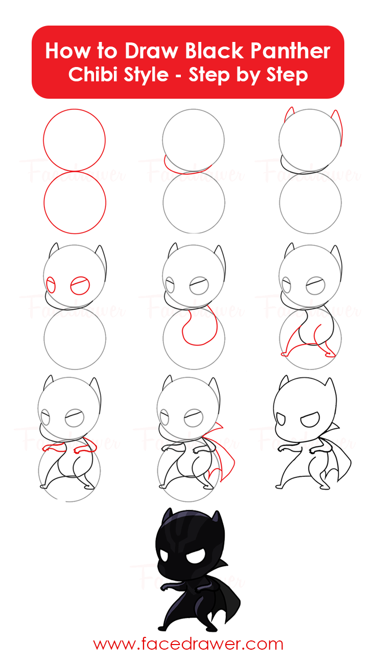 how-to-draw-chibi-black-panther-step-by-step-infographic