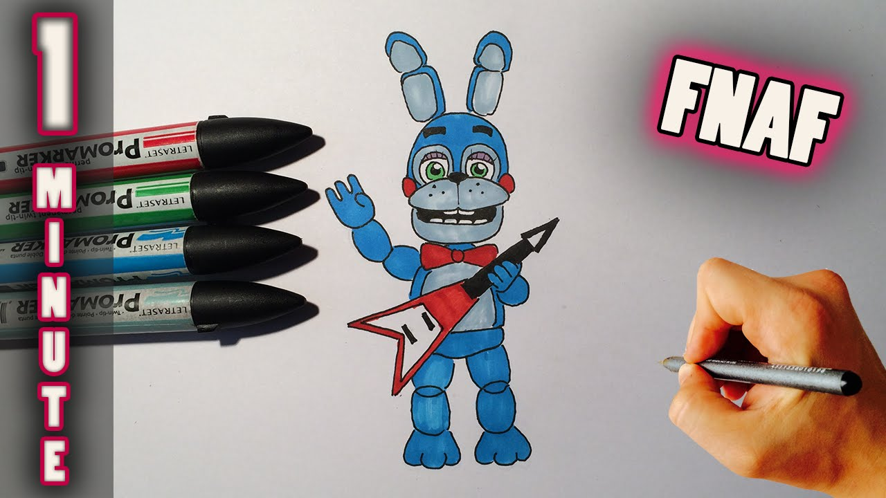 Toy Bonnie Fnaf 2 Drawing
