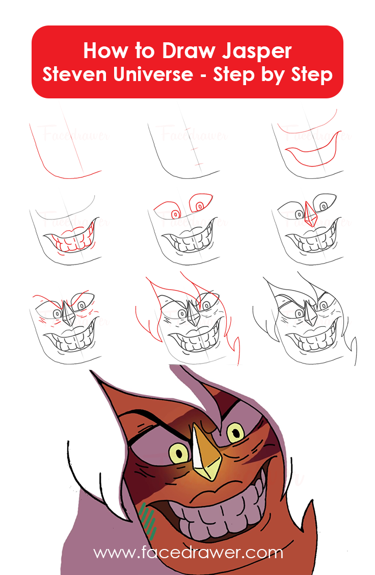 how to draw zed step by step