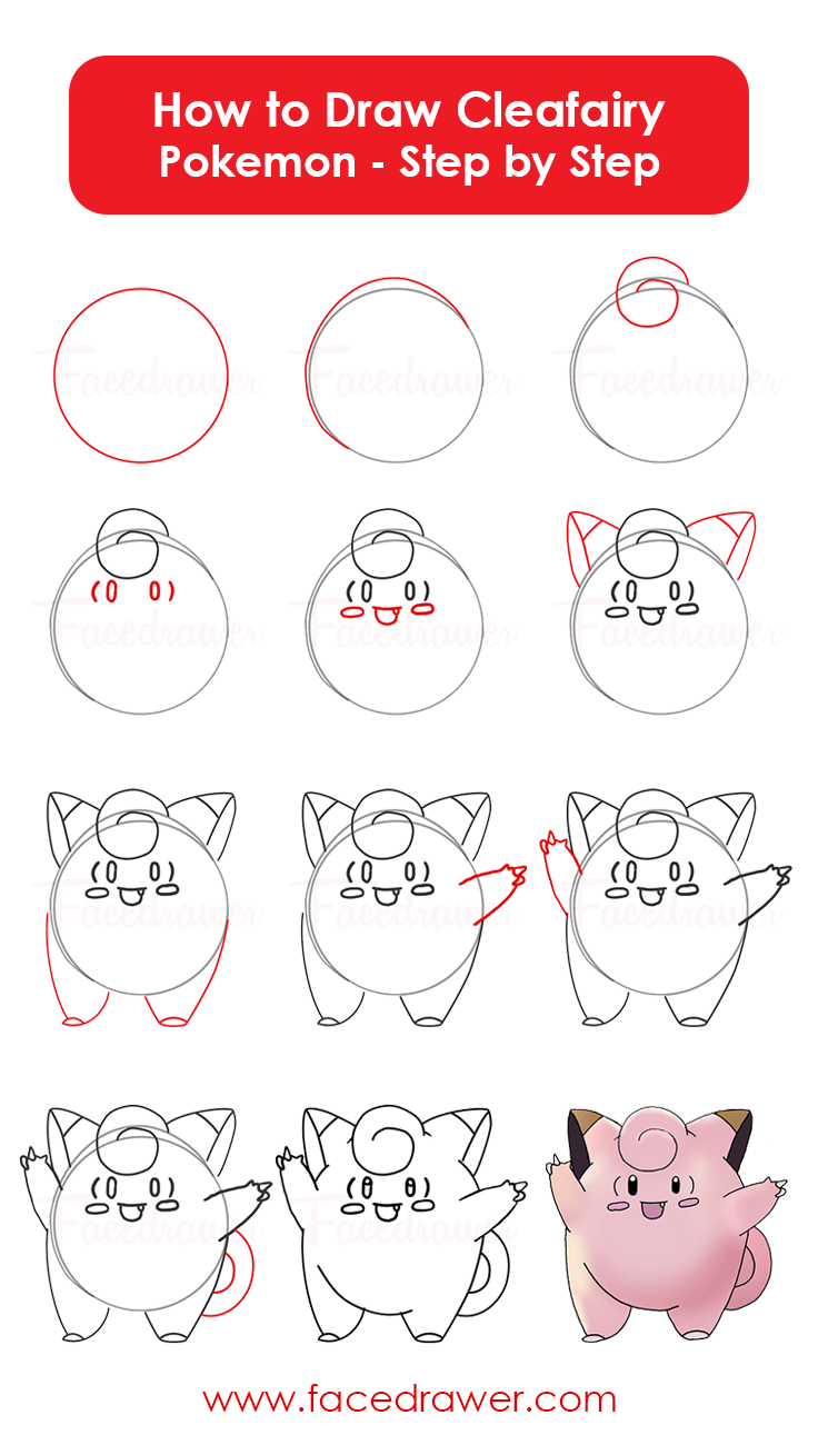 how-to-draw-clefairy-pokemon-step-by-step-infographic
