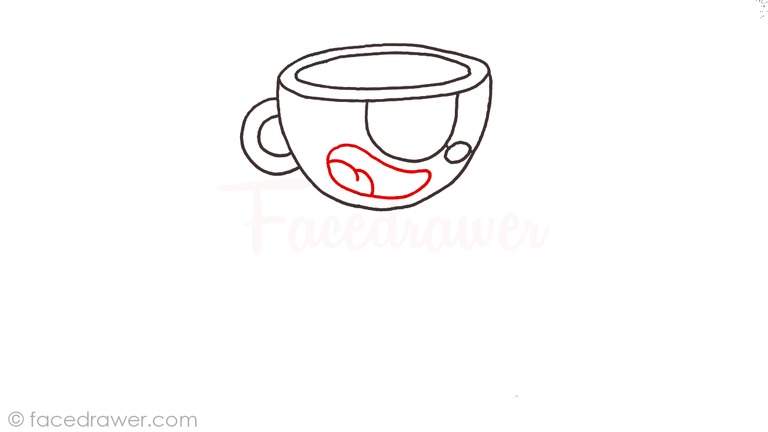 how to draw cuphead step 5