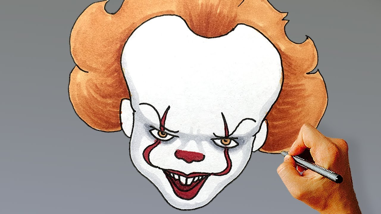 Pennywise Drawing Lesson Learn How To Draw The Dancing