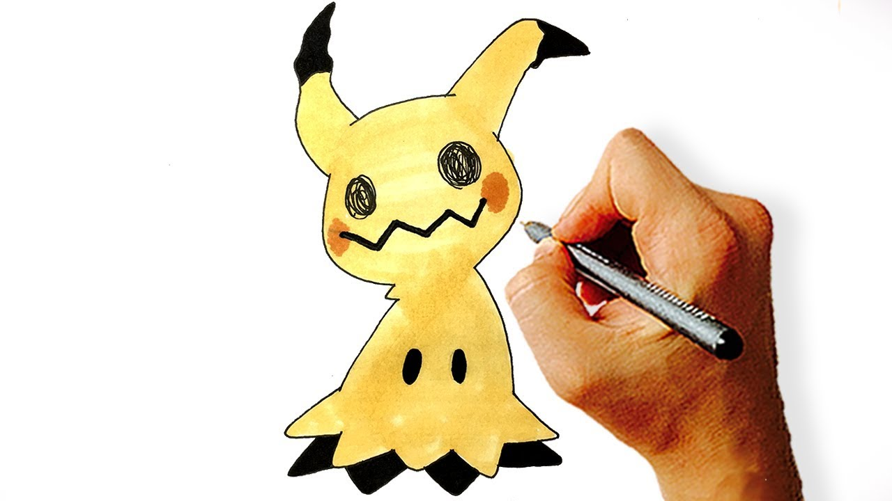 Mimikyu how to draw from pokemon step by step 13 easy steps altavistaventures Image collections